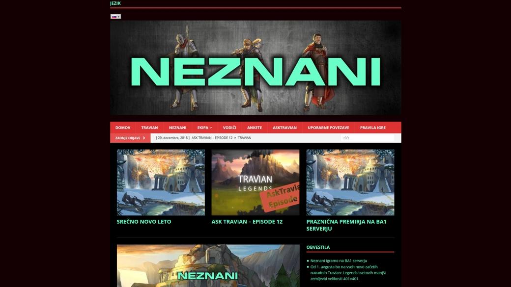 NEZNANI – Travian Team